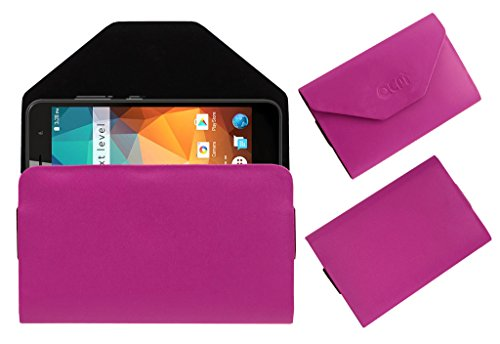Acm Premium Flip Flap Pouch Case for Xolo Era 2x 3gb Mobile Leather Cover Pink  available at amazon for Rs.179