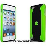 Novo iPod Touch 5 5G Hard Case Flux Neon Green Grün und Black Schwarz Hülle Taschen
