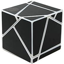 Magic Cube Ghost Cube 2x2 Velocidad Twist Puzzle DIY Brain Teaser negro