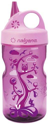 Nalgene Kinder Kunststoffflasche Everyday Grip-n-Gulp Trinkflasche, Pink, 0.35 Liter