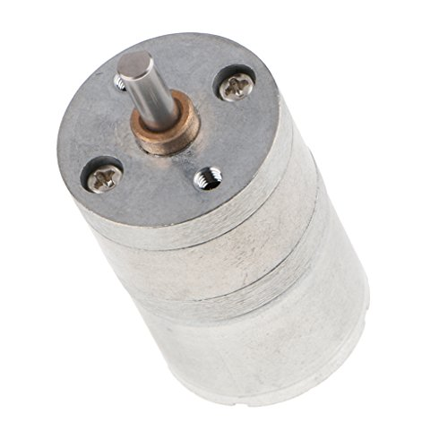 MagiDeal 1 Stück Mini DC Brushless Getriebemotor Geschwindigkeits-Reduzierungs-Motor 6V DC - Silber 900 rpm (1 Geschwindigkeit Motor)