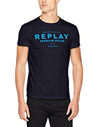 Replay Herren T-Shirt Logo Shirt