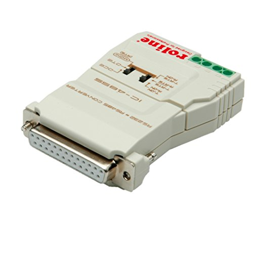 Dte-dce-gerät (ROLINE 12021028 Konverter RS232-RS485 ohne galvanischer Trennung grau)