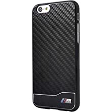 BMW M Collection Coque en carbone/aluminium pour iPhone 6 Plus/6S Plus Noir