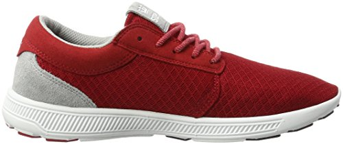 Supra Herren Hammer Run Sneaker Rot (Red-White)
