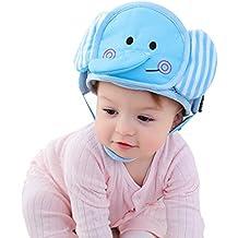 Pueri Sombreros para Bebés Protectores para Cabeza Gorros Antigolpes de Caminar Sombreros de Protección