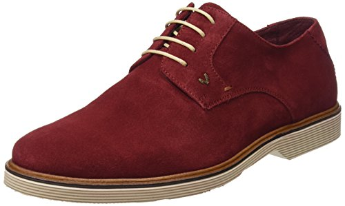 Martinelli Bowie 1204-1153x, Derbys Homme Rouge (Rouge)