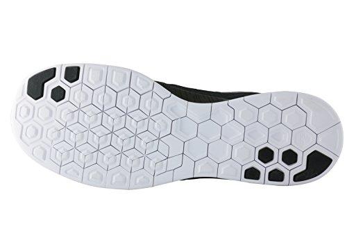 Nike Free 5.0 Print Herren Sport & Outdoorschuhe Grau / Schwarz / Weiß (CRG Khaki / Rflct SLVR-Blck-Wht)