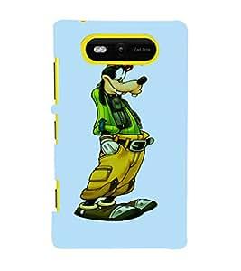 EPICCASE Goof up Mobile Back Case Cover For Nokia Lumia 820 (Designer Case)