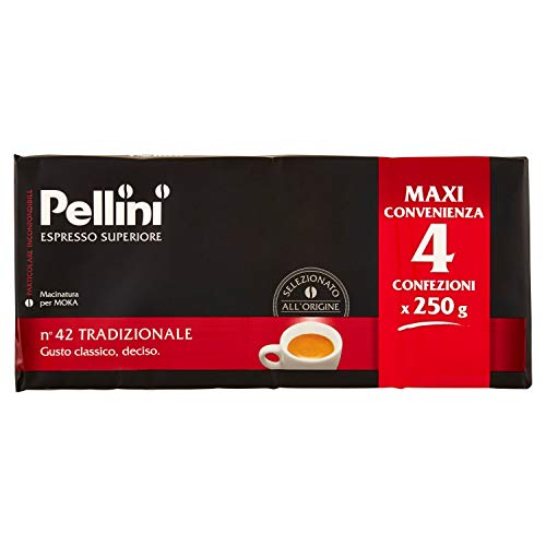 Pellini Caffè Moka N° 42 Tradizionale - 1000 g