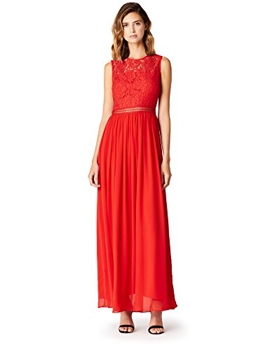TRUTH & FABLE Damen Maxi-Spitzenkleid, 71,99 - 100,00