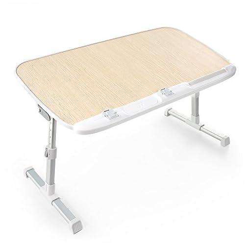 Lavolta Tavolino Pieghevole.Tavolo Regolabile Da Letto Per Laptop Taotronics Tavolino