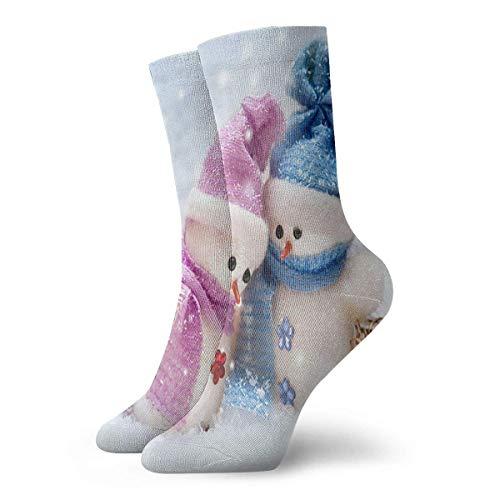 Kotdeqay Ankle Short Sports Socks Farm Colorful Christmas Snowman Unisex Non Slip Casual Dress Boat Stocking for Men Women Running