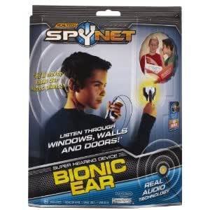 Spy Net: Bionic Ear With Audio Earphone - For A Real Ultrasound Technology (For Ages 8 - 15 Years) Toy / Game / Play / Child / Kid