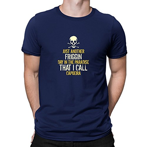 Teeburon JUST ANOTHER DAY IN THE PARADISE Capoeira T-Shirt (Day T-shirts Just Another)