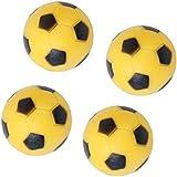 Electomania® 4pcs 36mm Soccer Table Foosball Football Fussball Replacement Ball (Yellow Black)