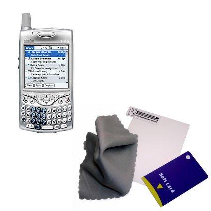 Blendungfreier Screen Protector für Palm palm Treo 650 - von Gomadic