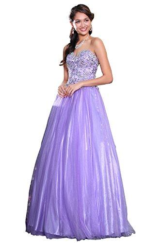 eDressit - Robe de chambre - ball gown - Femme Violet