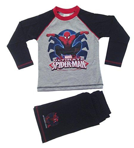 Spiderman Kids Boys Pyjamas Marvel Pyjama Set 2 Piece PJS Long Childrens Size UK 1-10 Years