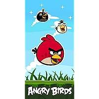 Angry Birds - Toalla baño para niños, ...