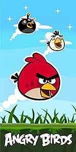 Vamos 5710751136594 serviette Angry Birds Coton 70 x 140 cm