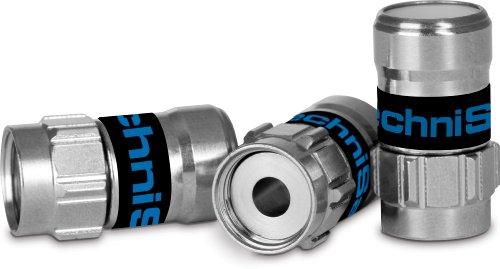 Preisvergleich Produktbild TechniSat Self-Install Stecker 10-Stück für Mini-Coaxkabel