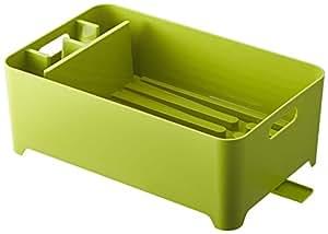 YAMAZAKI - Egouttoir vaisselle vert compact Yamazaki -