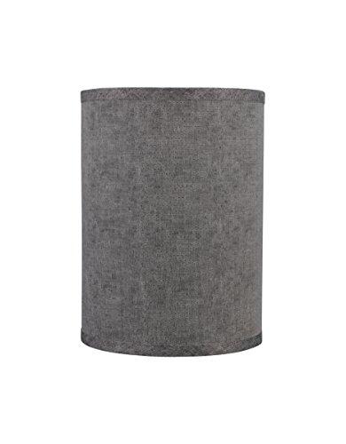 Aspen Creative 31023Übergangszeit, gebundenen Drum (Zylinder) Form SPIDER Konstruktion Lampenschirm in pink, 30,5cm breit (30,5x 30,5x 25,4cm)