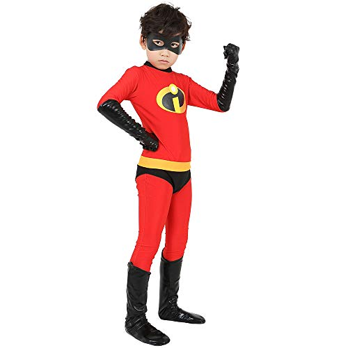 The Incredibles Kostüm Kind Erwachsener Cosplay Onesies Superhelden Halloween Mottoparty 3D Druck Strumpfhosen,Girl-S