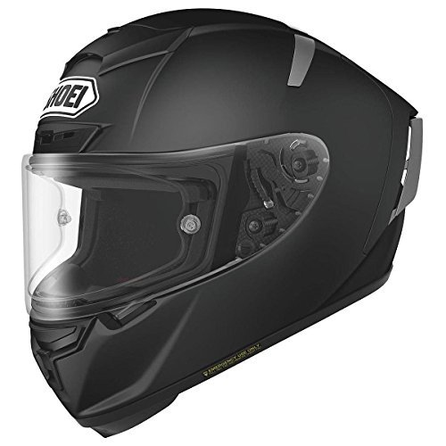 Shoei X-14 Full Face Helmet Matte Black Snell M2015 Free Size Exchange (Medium)