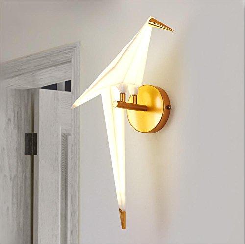 Atmko®Wandlampe Wandleuchte Kreative LED Wandleuchten Moderne Stil Vogel Modellierung Eisen Wand Lampe 12W Wohnzimmer Bedside Korridor Wand Oberfläche Mounted Sconces Dekoration Beleuchtung -