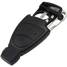 Heart Horse - Carcasa con llave y tresbotones para Mercedes Benz M, S, C, y E