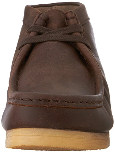 Clarks  Padmore II, bottes chelsea homme Brown Oily Leather