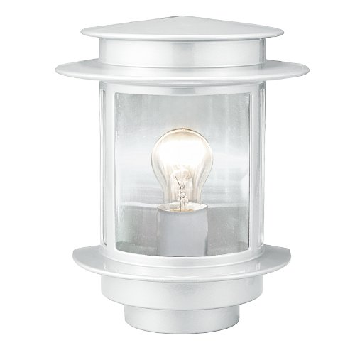 Eglo Exit 1 Outdoor Wall Lighting E27 60W Weiß -