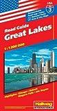 Hallwag USA Road Guide, No.3, Great Lakes (USA Road Guides) - Rand McNally and Company