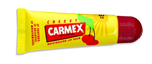 Carmex Cherry Tube, Bálsamo labial, cereza, 6pack