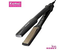 Kemei Km-329 Professional Hairstyling Iron Hair Straightener 4 Temperature Control Mode Hair Care Tool