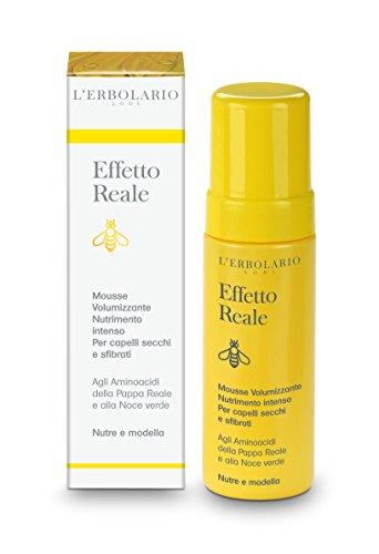 L'Erbolario Effetto Reale intensiv nährende Volumen Schaumfestiger, 1er Pack (1 x 150 ml)