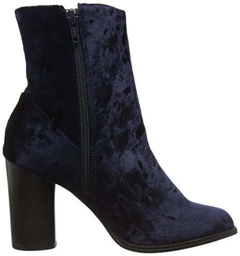 New Look Audrey 2 High Ankle, Bottes Classiques femme Bleu - Blue (41/Navy)