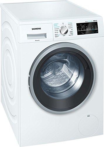 Siemens WD15G442 iQ500 Waschtrockner / A+++ D / 1088 kWh / 81 kg / 8 kg Waschen / 5 kg Trocknen / Weiß / Großes Display mit Endezeitvorwahl [Altes Modell]