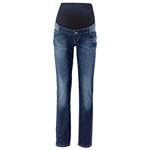 2HEARTS Umstands-Jeans We Love Basics/Umstandsmode Damen/Schwangerschaftshose/Blue Washed -