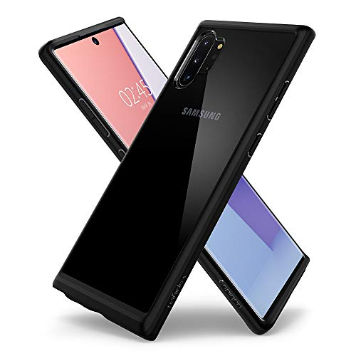 Spigen Cover Galaxy Note 10 Plus Ultra Hybrid Progettato per Samsung Galaxy Note 10 Plus Cover Custodia Note 10+ - Nero