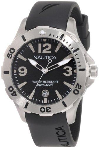 Nautica Men's N11548M BFD 101 Dive Style DNte Midsize Watch image