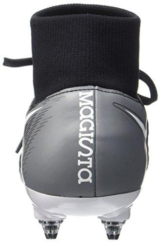Nike Mens Magista Onda Ii Scarpe Da Calcio Soft Fit Morbide E Dinamiche Nero / Bianco-grigio Scuro-verde Stadio