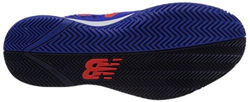 New Balance Men's 996v2 Tennis Shoe, Blue, 10 2E US Blue