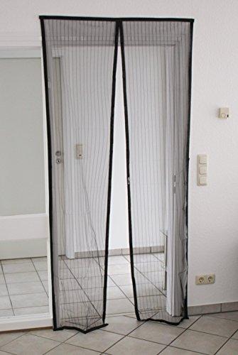 BRANDSSELLER Magnet Fliegengitter Tür Insektenschutz ca.90x210 cm - Magnetvorhang für Balkontür/Terassentür/Campingtür - Leichte Montage ohne Bohren