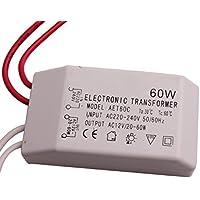 sgerste 60W transformador electrónico para lámpara de bajo voltaje 12V cuentas Blub 220–240V