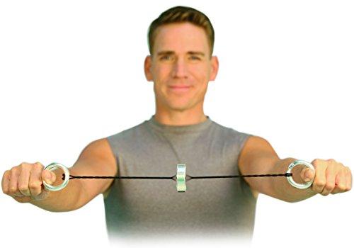 Handytrim® Rotationsexpander – Heimtrainer und Mini Fitnessgerät für zuhause und unterwegs inklusive Trainings-DVD - 2