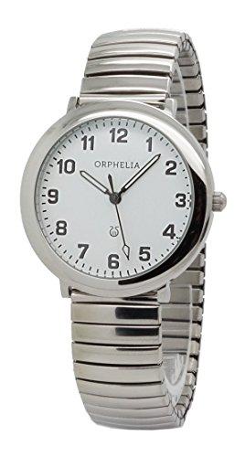 Unisex-reloj ORPHELIA cuarzo analógico acero inoxidable 153-7707-18