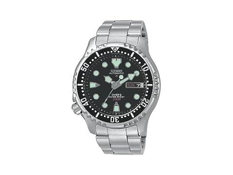 Citizen - NY0040-50E - Montre homme - Quartz - Analogique - Bracelet Acier inoxydable argent